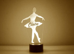 Ballerina LED Night Light