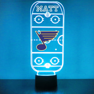St. Louis Blues Hockey Rink LED Sports Sign