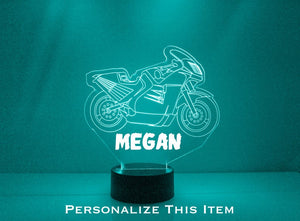 Motorcycle LED Night Light