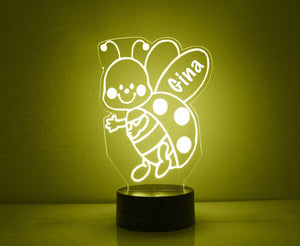 Ladybug LED Night Light