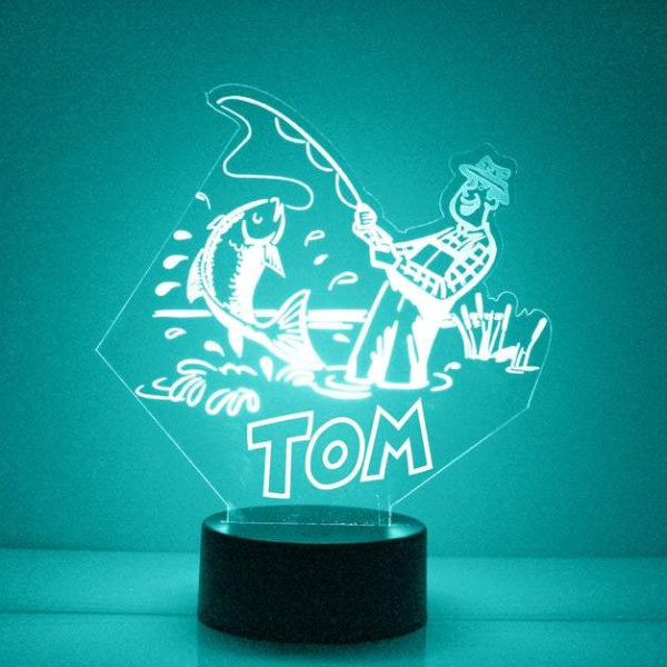 Fishing LED Night Light