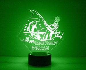 Fishing LED Night Lamp