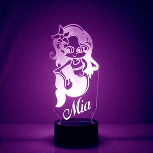 Mermaid LED Night Light
