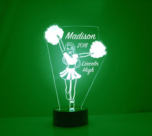 Cheerleader LED Night Light