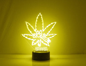 Pot Leaf LED Night Light