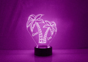 Palmtree LED Night Lamp