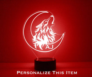 Wolf LED Night Light