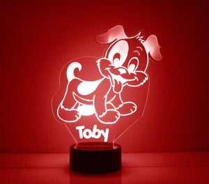 Dog LED Night Light