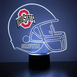 Ohio State Buckeyes Helmet LED Sports Sign