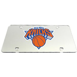 New York Knicks NBA License Plate