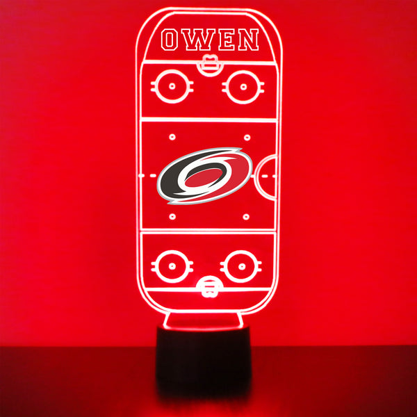 Carolina Hurricanes Hockey Rink LED Sports Sign