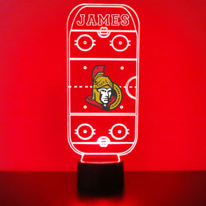 Ottawa Senators Hockey Rink LED Sports Sign