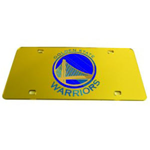 Golden State Warriors NBA License Plate