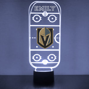 Vegas Golden Knights Hockey Rink LED Sports Sign