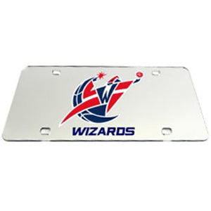 Washington Wizards NBA License Plate