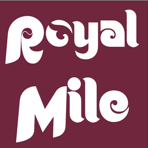 Maroon Royal Mile Baseball T-Shirt