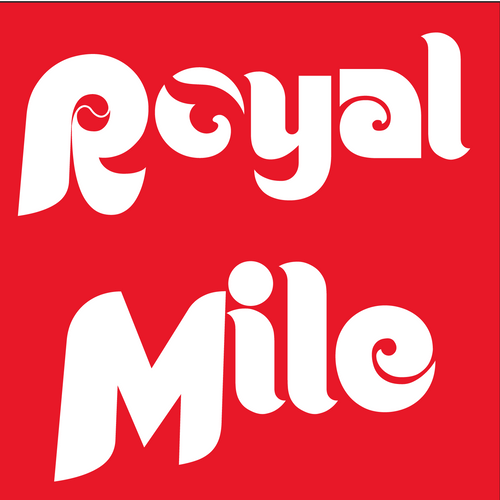 Red Royal Mile Baseball T-Shirt