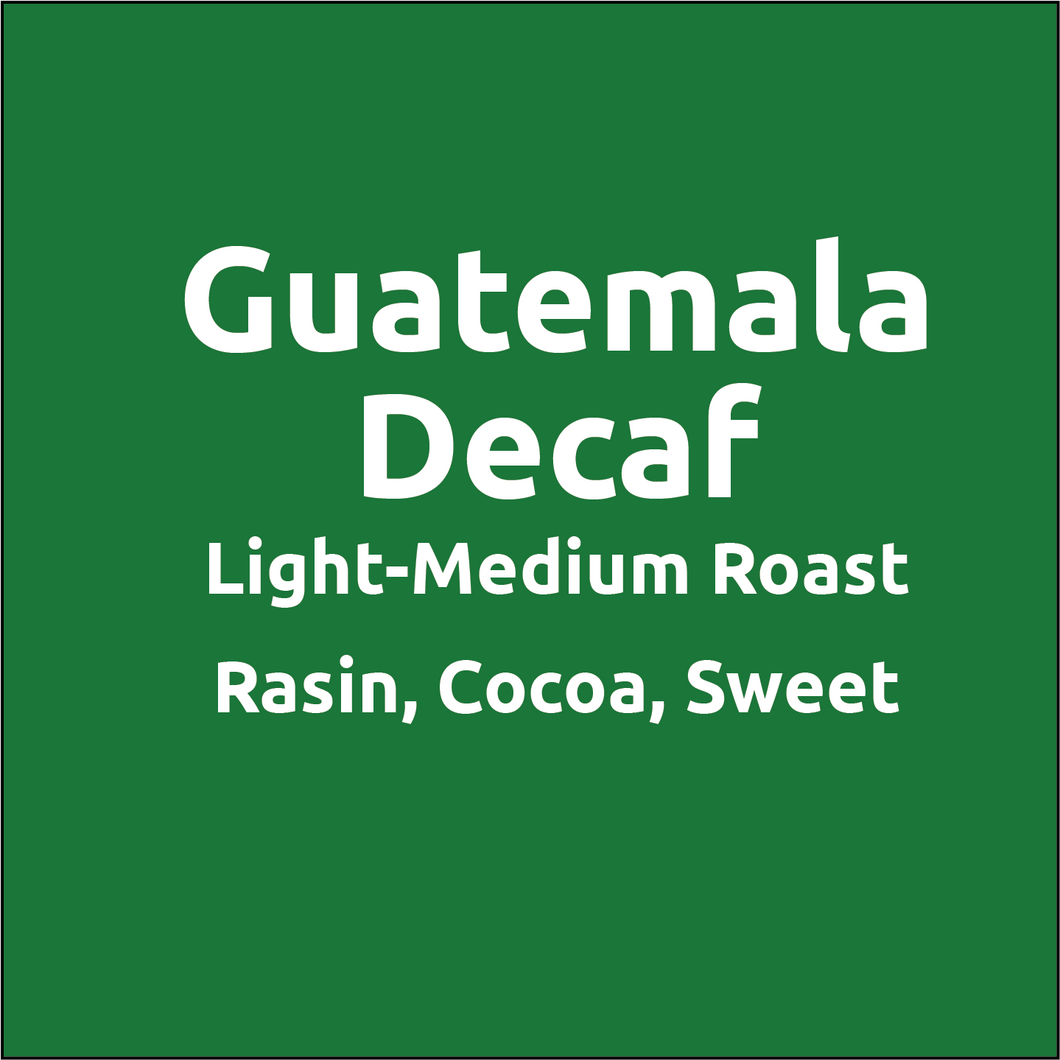 Royal Mile Decaf Coffee - Guatemala