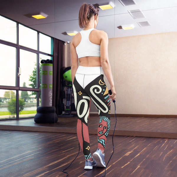 Troubardour Yoga Leggings