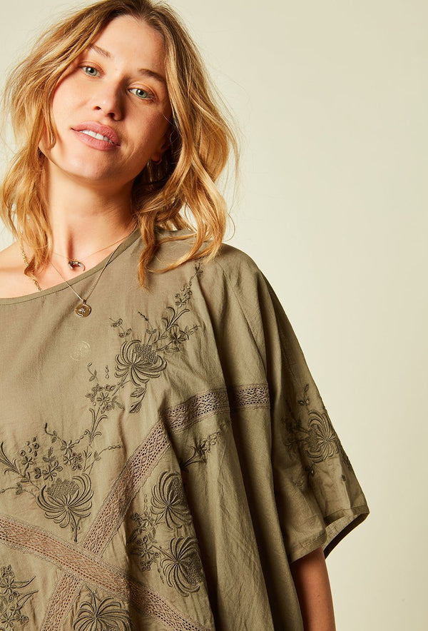 ROBE COURTE HAMPTON ROBE STELLA FOREST