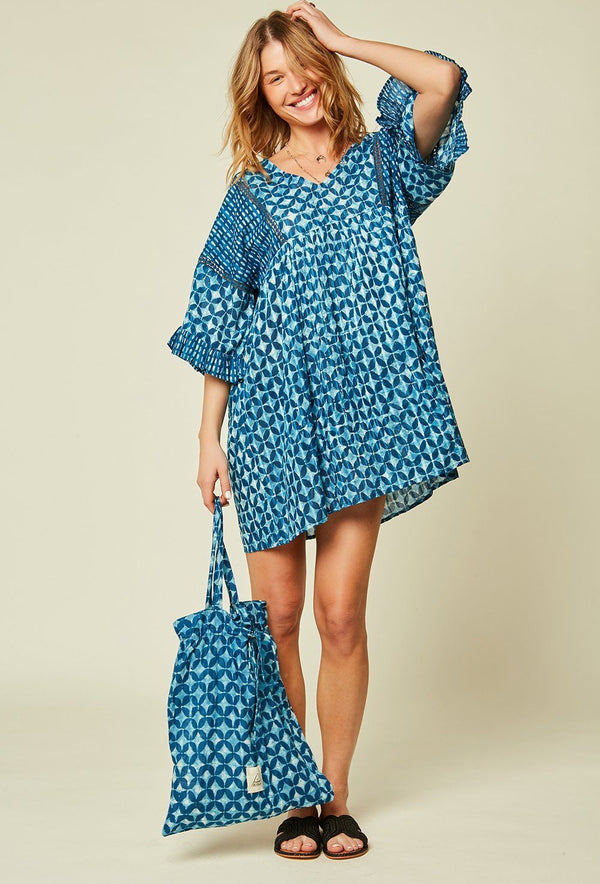 ROBE COURTE HAWAI ROBE STELLA FOREST INDIGO TU fr