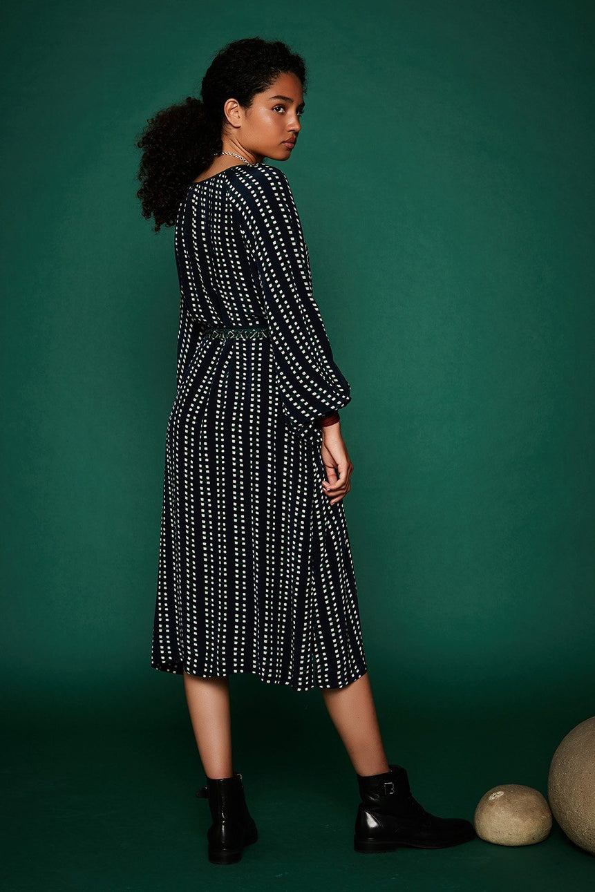 ROBE MIDI AMY ROBE STELLA FOREST