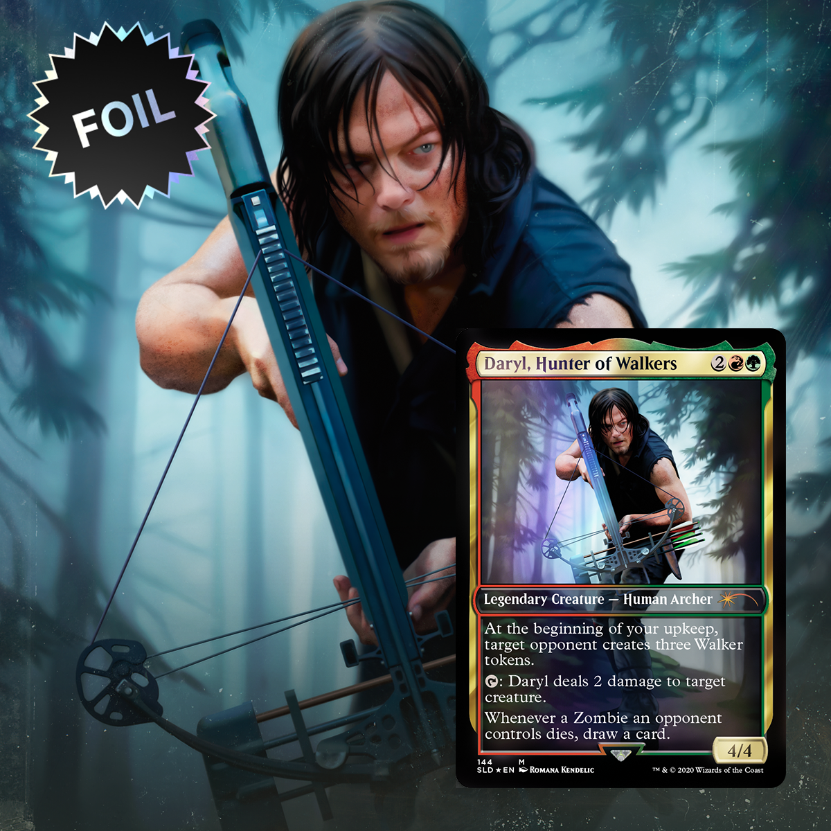 Magic the Gathering - Secret Lair - The Walking Dead | Gametraders Macarthur Square