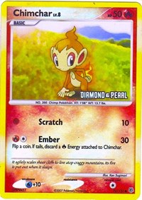 Chimchar (Diamond & Pearl) (76) [Burger King Promos] | The Game Center - Gametraders Macarthur Square