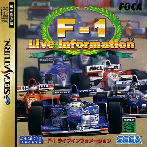 F1 Live Information - JP Sega Saturn | Gametraders Macarthur Square