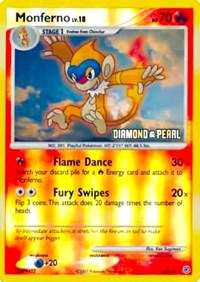 Monferno (Diamoned & Pearl) (56) [Burger King Promos] | The Game Center - Gametraders Macarthur Square