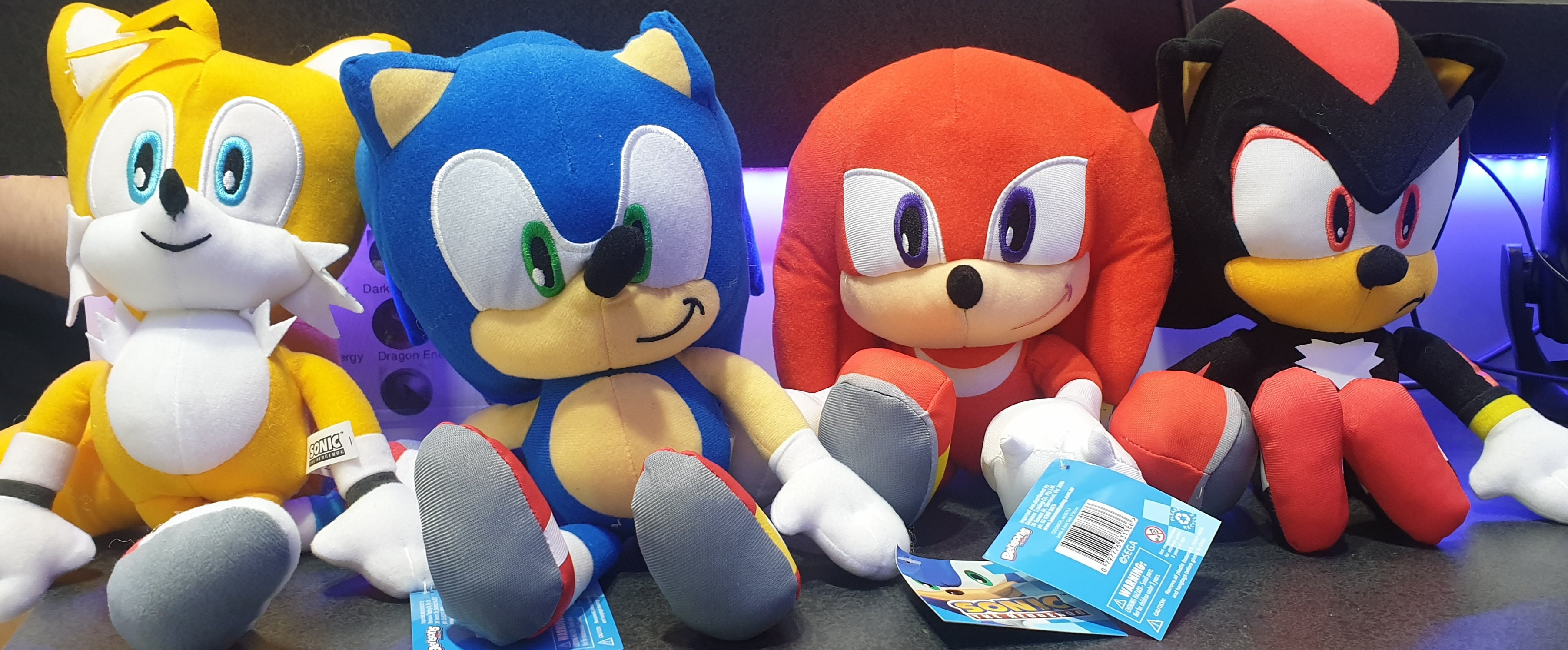 Sonic the Hedgehog 30cm Plush Assortment | Gametraders Macarthur Square