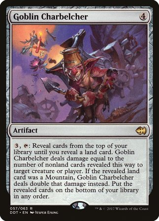 Goblin Charbelcher [Duel Decks: Merfolk vs. Goblins] | The Game Center - Gametraders Macarthur Square