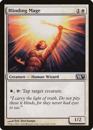 Blinding Mage [Magic 2011] | The Game Center - Gametraders Macarthur Square