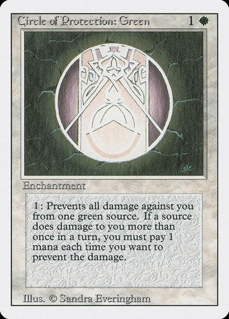 Circle of Protection: Green [Revised Edition] | Gametraders Macarthur Square