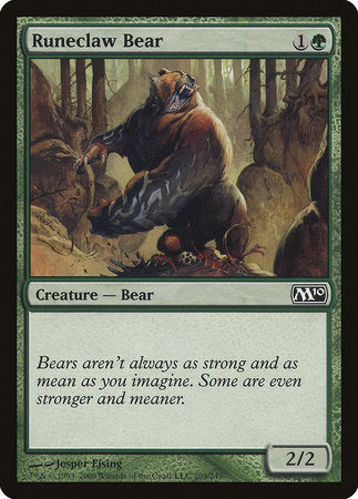 Runeclaw Bear [Magic 2010] | Gametraders Macarthur Square