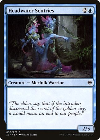 Headwater Sentries [Ixalan] | Gametraders Macarthur Square