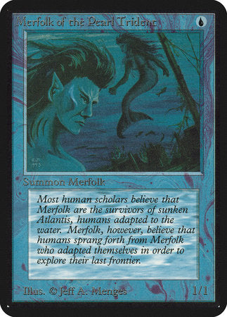 Merfolk of the Pearl Trident [Limited Edition Alpha] | Gametraders Macarthur Square