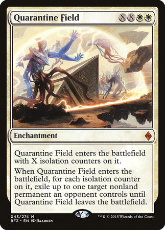 Quarantine Field [Battle for Zendikar] | Gametraders Macarthur Square