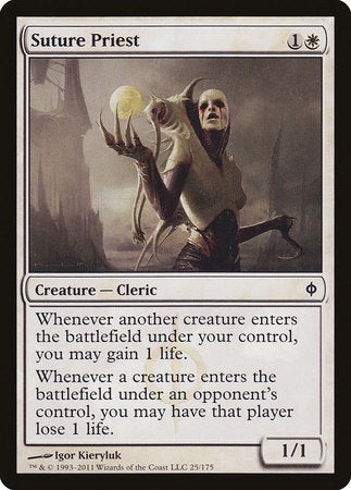 Suture Priest [New Phyrexia] | Gametraders Macarthur Square
