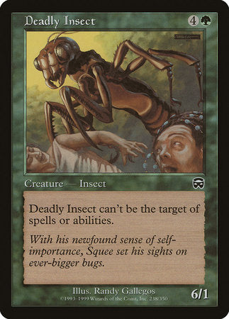Deadly Insect [Mercadian Masques] | The Game Center - Gametraders Macarthur Square