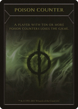 Poison Counter Token [New Phyrexia Tokens] | The Game Center - Gametraders Macarthur Square
