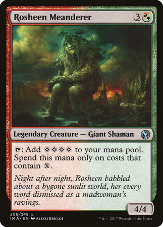 Rosheen Meanderer [Iconic Masters] | The Game Center - Gametraders Macarthur Square
