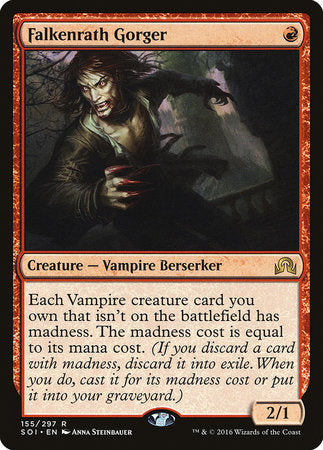 Falkenrath Gorger [Shadows over Innistrad] | The Game Center - Gametraders Macarthur Square