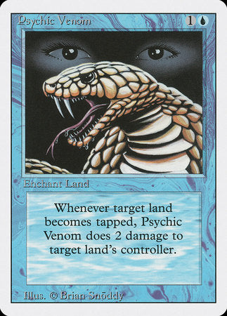 Psychic Venom [Revised Edition] | The Game Center - Gametraders Macarthur Square