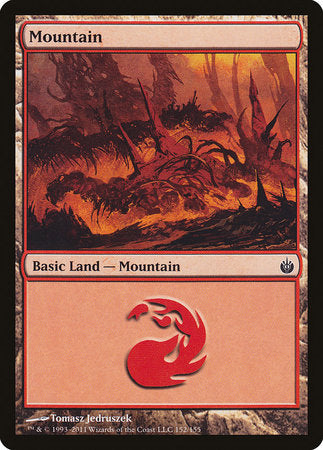 Mountain (152) [Mirrodin Besieged] | The Game Center - Gametraders Macarthur Square