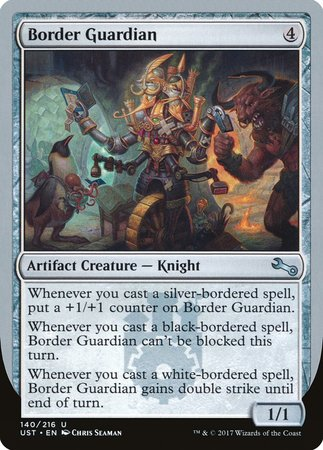 Border Guardian [Unstable] | The Game Center - Gametraders Macarthur Square