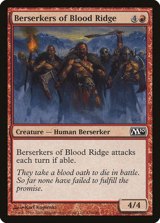 Berserkers of Blood Ridge [Magic 2010] | The Game Center - Gametraders Macarthur Square