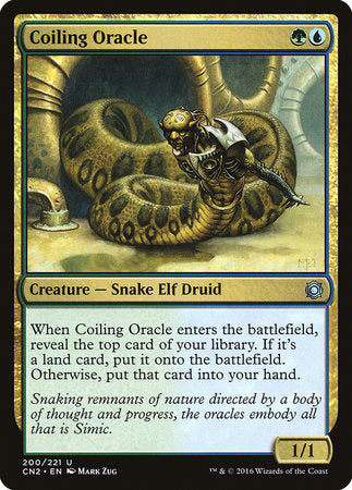 Coiling Oracle [Conspiracy: Take the Crown] | The Game Center - Gametraders Macarthur Square
