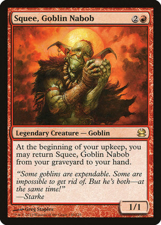 Squee, Goblin Nabob [Modern Masters] | The Game Center - Gametraders Macarthur Square