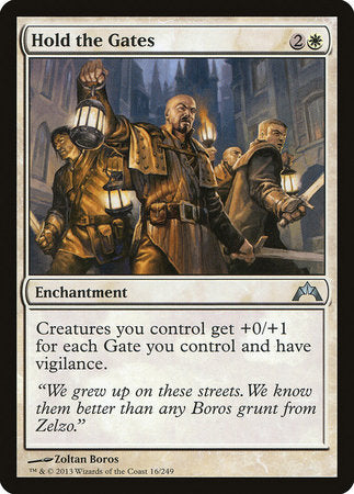 Hold the Gates [Gatecrash] | The Game Center - Gametraders Macarthur Square